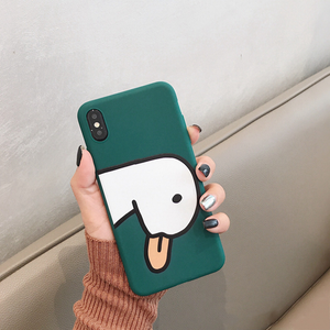 """FRIENDLY DUCK"" IPHONE CASE (2 COLORS)"