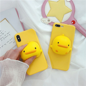"""SQUISHY DUCK"" IPHONE CASE"