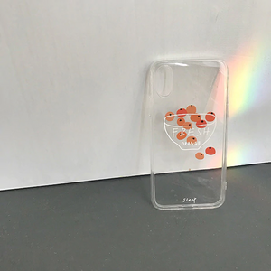 """MINIMALIST ORANGE"" IPHONE CASE"