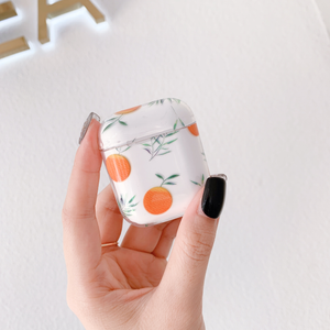 """MINIMALIST ORANGE"" AIRPODS CASE"