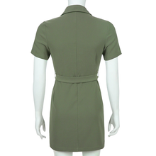 "Load image into Gallery viewer, ""ARMY WINTER"" DRESS"