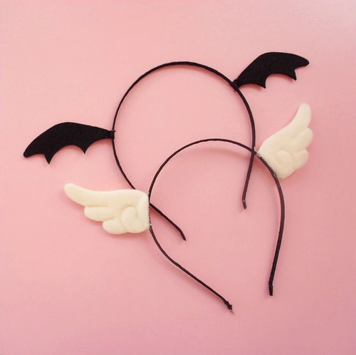 'LIL DEVIL & ANGEL HAIR ACCESSORY (2 COLORS)