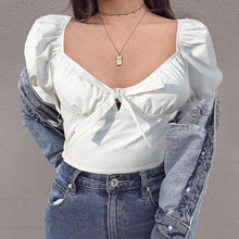 "Load image into Gallery viewer, ""BELLE"" CROP TOP"