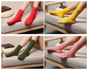 FRUIT SOCKS (4 COLORS)