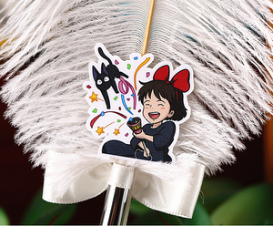"""KIKI'S DELIVERY SERVICE DAILY LIFE"" STICKERS"