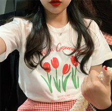 "Load image into Gallery viewer, ""DECLARATION OF TULIPS"" SHIRT"