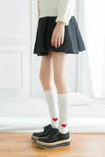 Load image into Gallery viewer, HEART KNEE SOCKS (3 COLORS)