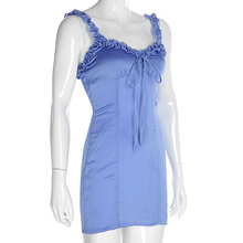 "Load image into Gallery viewer, ""BLUE BELLE"" DRESS"