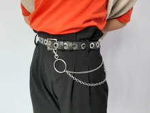 "Load image into Gallery viewer, ""GRUNGE GIRL"" CHAIN BELT"