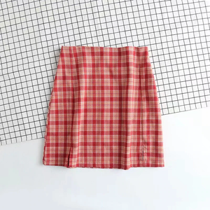 """THERESA"" PLAID SKIRT"
