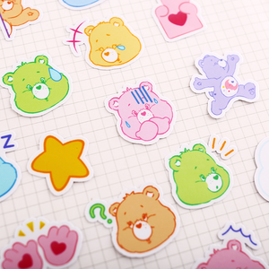 """HAPPY CARE BEARS"" STICKERS"