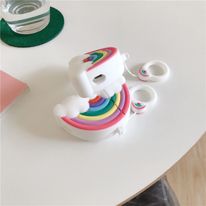 RAINBOW CLOUD AIRPODS CASE