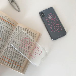 """LET'S LOVE"" IPHONE CASE"