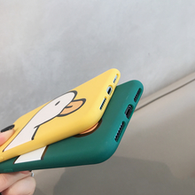 "Load image into Gallery viewer, ""FRIENDLY DUCK"" IPHONE CASE (2 COLORS)"