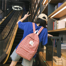 "Load image into Gallery viewer, ""PICNIC GIRL"" BACKPACK (4 COLORS)"