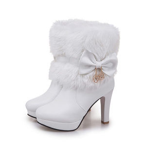 """FAIRY WINTER"" ANKLE BOOTS (3 COLORS)"