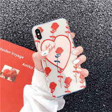 "Load image into Gallery viewer, ""LOVE HOLIDAY!"" IPHONE CASE"