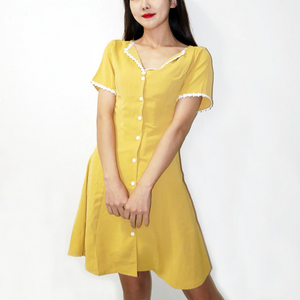 """SWEET LADY"" DRESS (4 COLORS)"