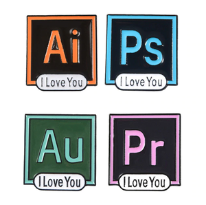 """ADOBE LOVE"" PINS (5 COLORS)"