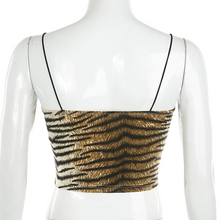 "Load image into Gallery viewer, ""TIGER STRIPES"" CROP TOP"