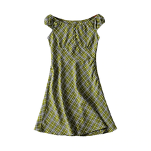 "Load image into Gallery viewer, ""JADE AUTUMN"" DRESS"
