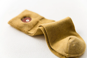 """BROWN BEAR"" SOCKS (6 COLORS)"