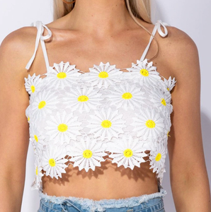 """SUMMER DAISIES"" CROP TOP"
