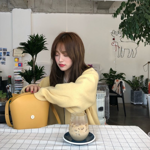 """LEMON DATE"" CARDIGAN"