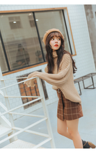 Load image into Gallery viewer, RETRO GRID SKIRT (2 COLORS)