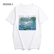 "Load image into Gallery viewer, ""MONET'S WATER LILIES"" SHIRT"