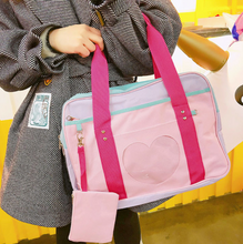 "Load image into Gallery viewer, ""PASTEL HEART"" BAG (5 COLORS)"
