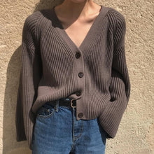 "Load image into Gallery viewer, ""COZY LIFE"" CARDIGAN (2 COLORS)"