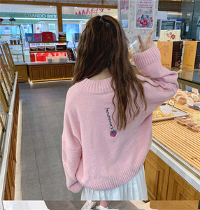 """STRAWBERRY LOVE"" SWEATER (3 COLORS)"