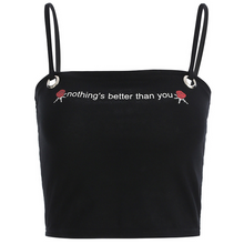 "Load image into Gallery viewer, ""NOTHING'S BETTER THAN YOU"" CROP TOP"