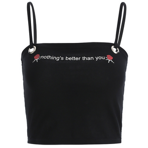 """NOTHING'S BETTER THAN YOU"" CROP TOP"