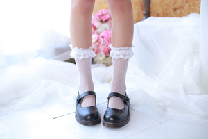 """BABYDOLL"" SOCKS (2 COLORS)"