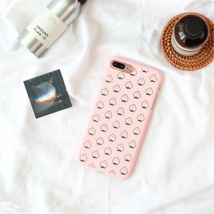 """PEACH MAN"" IPHONE CASE"