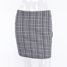 "Load image into Gallery viewer, ""SAVANNAH"" PLAID SKIRT"