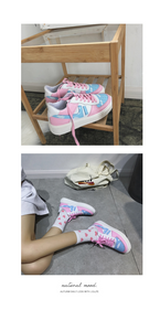 """COTTON CANDY"" SNEAKERS"