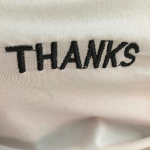 """THANKS"" TURTLENECK (2 COLORS)"