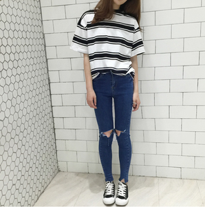 """ASHLEY"" STRIPED SHIRT (2 COLORS)"