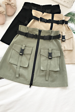 "Load image into Gallery viewer, ""SURVIVAL"" SKIRT (3 COLORS)"