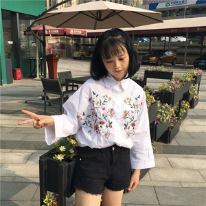 """FLORAL MEMORY"" BLOUSE"