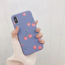 "Load image into Gallery viewer, ""CHERRY DOLL"" IPHONE CASE (2 COLORS)"
