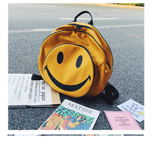 Load image into Gallery viewer, HAPPY FACE BAG (2 COLORS)