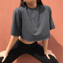 "Load image into Gallery viewer, ""SUSANNA"" CROP TOP"