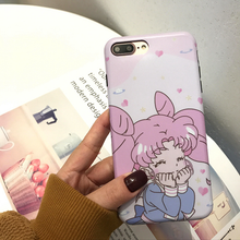 "Load image into Gallery viewer, ""HAPPY CHIBIUSA"" IPHONE CASE"