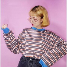 "Load image into Gallery viewer, ""STRIPED DAY"" SWEATER (2 COLORS)"