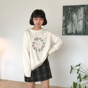 """FLORAL LOVE"" SWEATER (2 COLORS)"