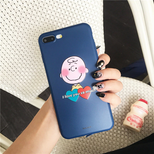 """CHARLIE BROWN x LUCY VALENTINES"" IPHONE CASES (2 DESIGNS)"